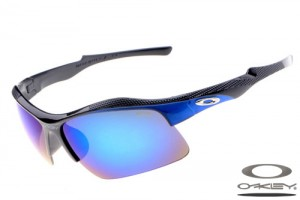 lwmzs Wholesale Oakley Sport sunglasses black frame fire iridium lens