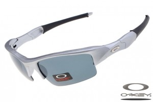 aaa766b917a Quick View · Oakleys Flak Jacket sunglass   grey silver ...