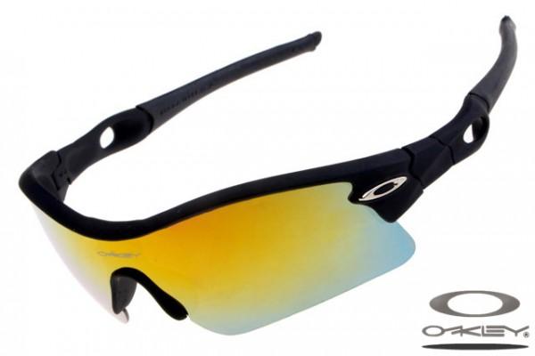 17c83807b01dd Fake Oakley Radar Pitch sunglasses sale matte black frame yellow ...