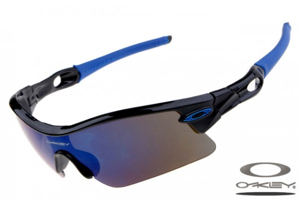 137490f075 Fake Oakley Radar Pitch sunglasses sale polished black and blue ...