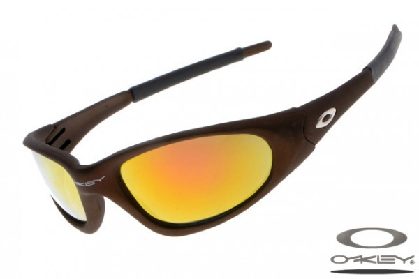 c508b5bc16 ... sunglasses d1dca 344f6  wholesale oakleys ten sunglass fire iridium  matte chocolate 48ffb 68b70